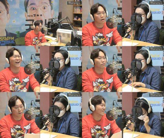 사진=MBC라디오 '굿모닝FM' 보이는 라디오 방송 캡처
