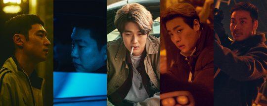 영화 '사냥의 시간'의 이제훈(왼쪽부터), 안재홍, 최우식, 박정민, 박해수. /사진제공=리틀빅픽처스