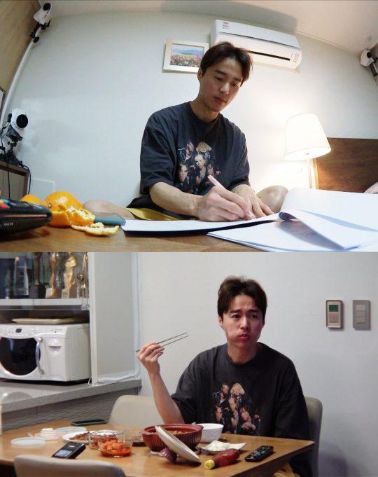 '미운 우리 새끼'에 출연한 배우 오민석/ 사진제공=SBS