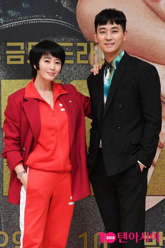 배우 김혜수, 주지훈 /사진제공=SBS