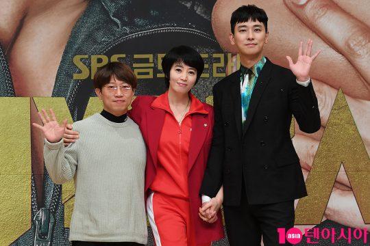 장태유 PD, 김혜수, 주지훈 /사진제공=SBS