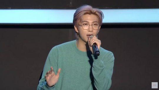 그룹 방탄소년단의 RM / 사진=방탄TV캡처
