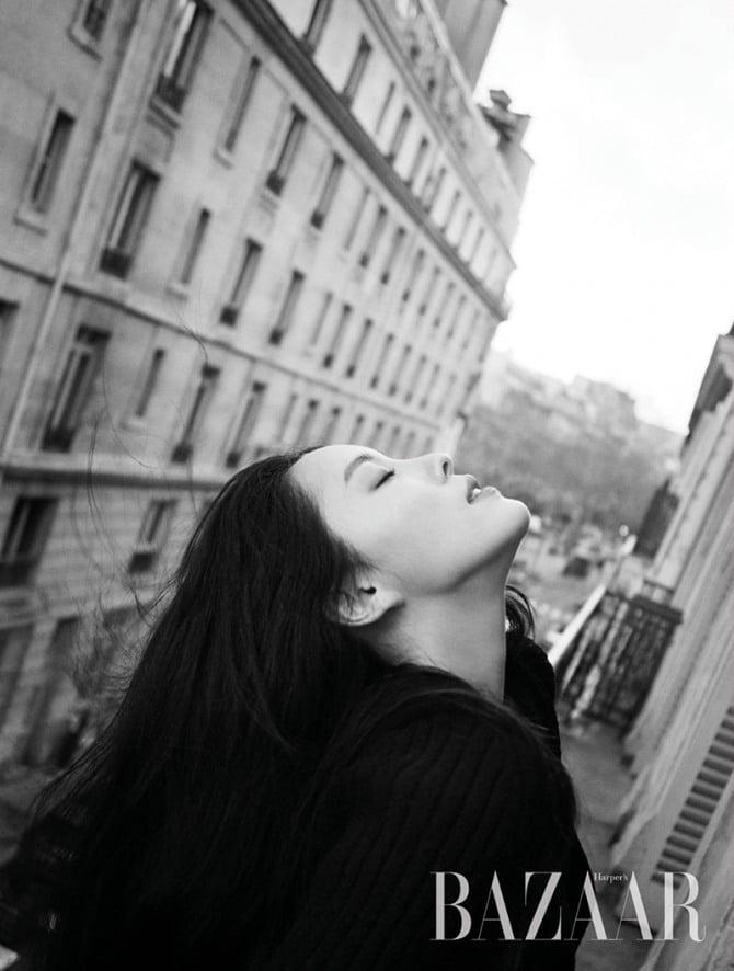 '파리에서 만난 그녀' 효민, 분위기 大폭발