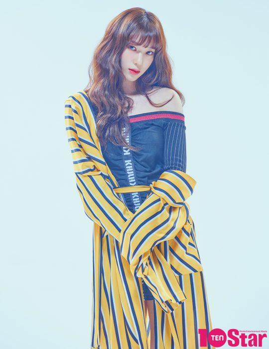 로켓펀치 연희(위부터), 쥬리, 수윤./ 사진제공=텐스타