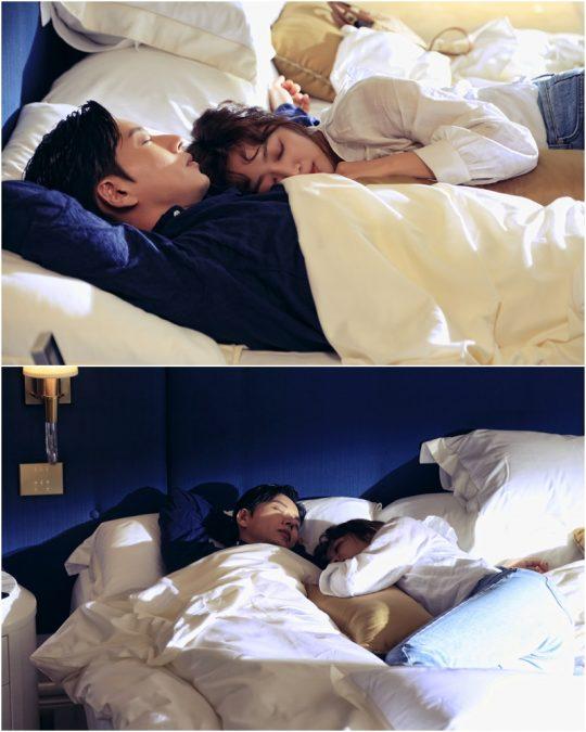 드라마 '포레스트' 박해진과 조보아/ 사진제공=KBS2