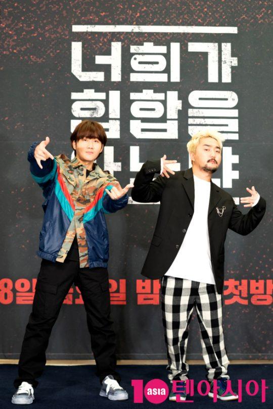 개그맨 이용진(왼쪽), 방송인 유병재