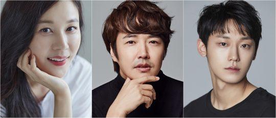 배우 김하늘(왼쪽부터), 윤상현, 이도현./사진=각 소속사 제공