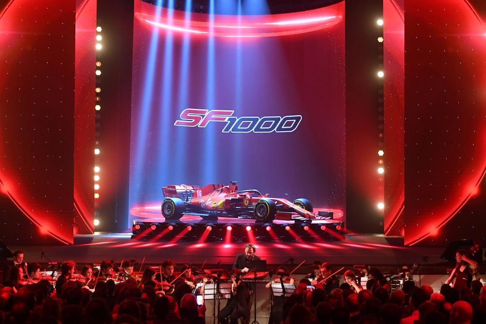 페라리, 2020시즌 F1 머신 'SF1000' 공개