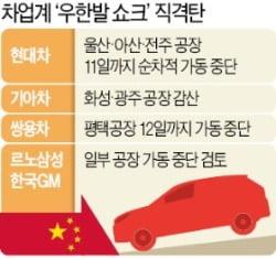 현대차 국내 全공장 멈춘다…中 부품 공급 중단 '일파만파'