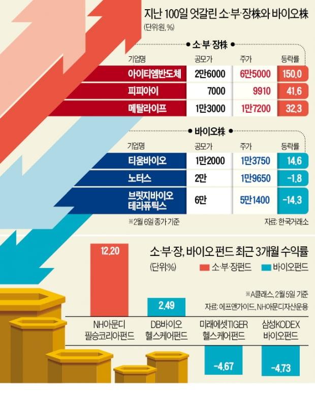 최고 593%↑…새내기 소부장株 '축포'