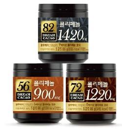 롯데제과, 폴리페놀 성분에 높은 카카오 함량…'드림카카오 초콜릿' 제2 도약 나선다