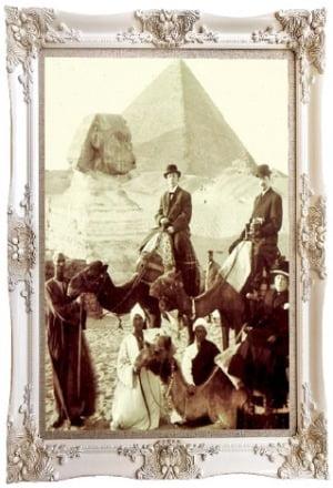 이집트 피라미드 그랜드 투어 참가자들