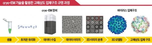 바이러스 약점 찾는 '초저온 전자현미경'…신약 개발에 활용