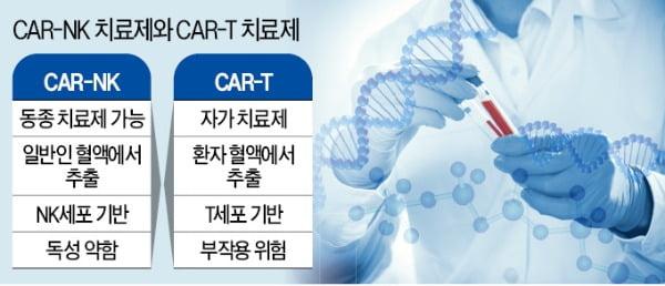 차세대 항암제 'CAR-NK' 개발 빨라지나