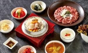 워커힐 '동충하초 해물돌솥밥·한우 불고기'