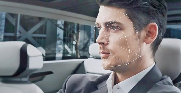 현대모비스와 스타트업 딥글린트가 개발 중인 인공지능(AI) 기반 안면인식 기술. 현대모비스 제공