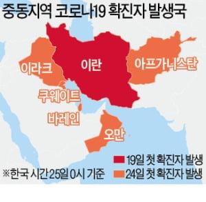 이란은 '중동의 우한'…주변 5개국으로 감염 확산