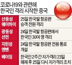 이젠 중국인이 '脫한국' 러시…중국行 항공권값 7~8배 급등