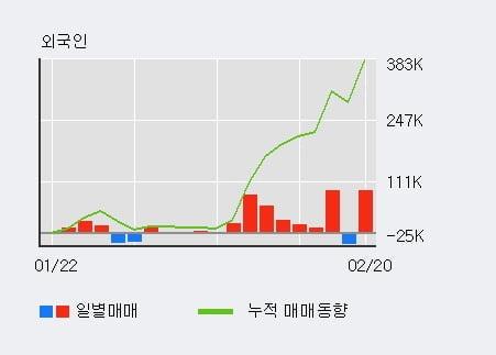 '쎄트렉아이' 52주 신고가 경신, 외국인 6일 연속 순매수(21.3만주)