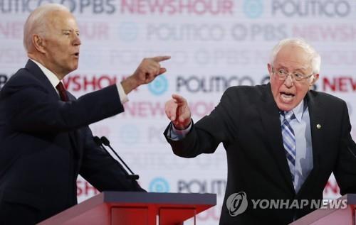 미 대선 서막 '아이오와주' 결전의 날…바이든이냐, 샌더스냐