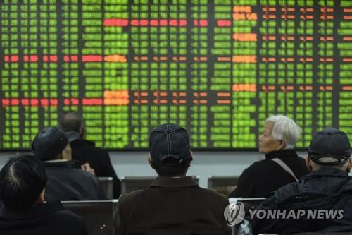 중국 증시 춘제후 첫 개장날 '블랙 먼데이'…상하이 7.72% 폭락