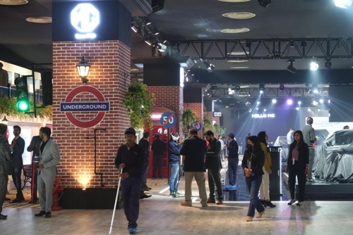 현대·기아차, 인도 델리모터쇼서 카니발 등 전략 차종 공개