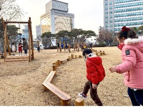 전주시청 광장, 어린이 놀이터로 변신…도심 팝업 놀이터 확대