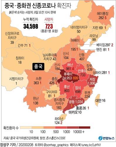 신종코로나 감염 의심 60대 일본인, 중국서 첫 사망