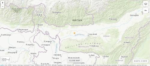 인도 북동부서 규모 5.0 지진