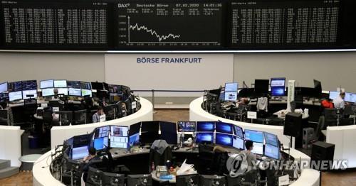 [유럽증시] 신종코로나 확산 우려 지속 속 일제히 하락