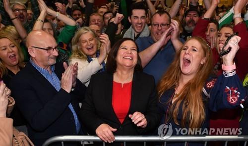 아일랜드 총선서 신페인당 제2당 약진…양당→3당 체제로(종합)