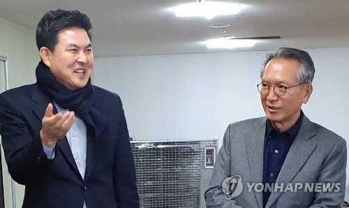홍준표 양산 역제안·김태호 고향 고수…내일 출마지 결정될수도(종합)
