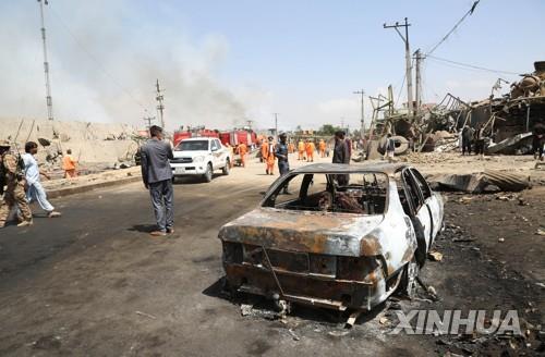 """아프간 카불서 군사학교 인근 자폭 테러…""""5명 사망"""""""