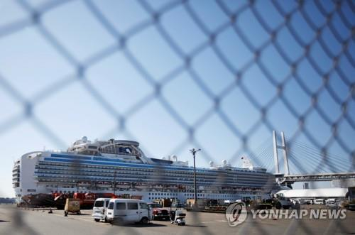 일본 신종코로나 감염자 163명으로 늘어…유람선만 135명