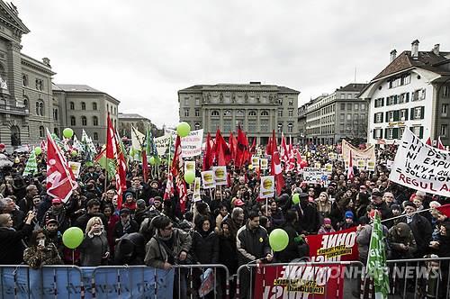 """스위스 법무장관 """"이민제한 국민투표, 심각한 결과 초래할 것"""""""