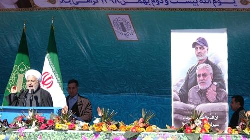 """[르포] 이란 이슬람혁명 기념식…""""솔레이마니는 불멸"""""""