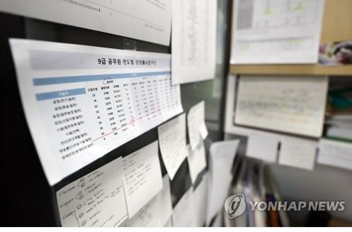 강원도 올해 신규채용 공무원 1천466명 선발