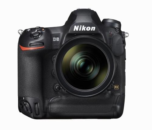 """니콘, 플래그십 DSLR 카메라 D6 발표…""""강력한 AF 성능 특징"""""""