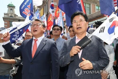 홍문종, 우리공화당서 제명…'친박신당' 창당