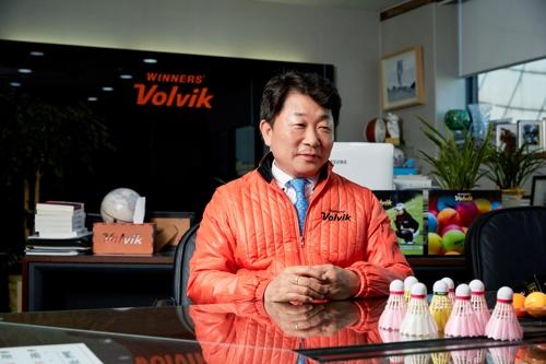 """볼빅, 배드민턴용품 시장 진출…""""컬러 셔틀콕 출시"""""""