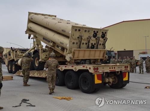 미, '사드-패트리엇 통합체계' 시험단계…발사대 원격체계 구축