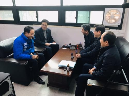 [지방정가 브리핑] 우원식 의원·허영 예비후보, 민생 현안 청취