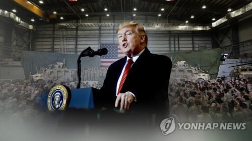 """미-탈레반 '폭력감소' 휴전합의…육군장관 """"정치적 해법 첫걸음""""(종합)"""