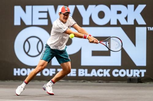 권순우, 뉴욕오픈 테니스 8강에서 에드먼드에게 분패