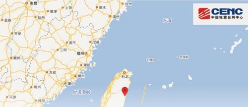대만 화롄서 '5분 간격' 규모 5.4, 4.7 두차례 지진