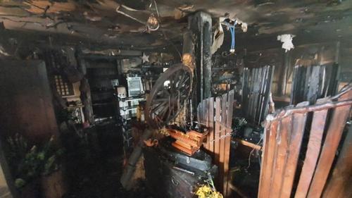 울산 울주 음식점서 불…3천300만원 피해