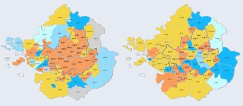 12·16 이후 주택 매매심리…서울은 '급랭' 경기도는 '온풍'