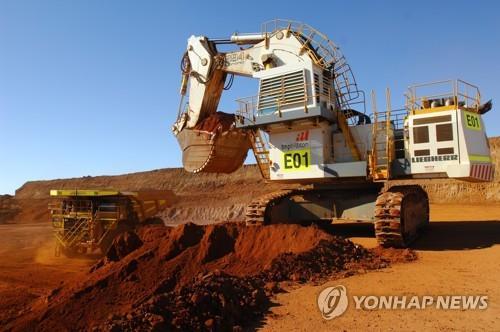 세계 최대 광산업체 BHP 中수요 증가에 작년 하반기 이익 39%↑