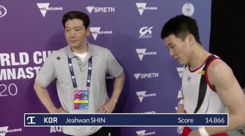 도쿄올림픽 '도마 비밀병기' 신재환, FIG 멜버른 월드컵서 우승