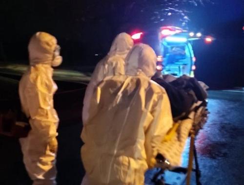 폭행 피의자 검거 직후 발열 증세 호소…경찰 14명 격리